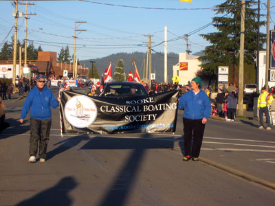 SCBS on parade