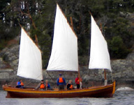 Sooke Classical Boating Society Logo